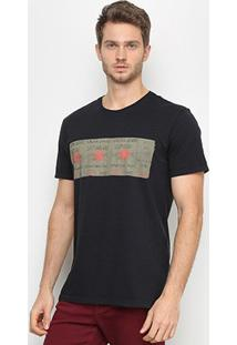 Camiseta Calvin Klein Friday Saturday Sunday Masculina - Masculino-Preto