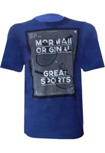 Camiseta Mormaii Disclosure Masculina - Masculino-Azul