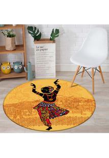Tapete Redondo Wevans African