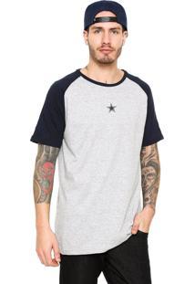 Camiseta New Era Dallas Cowboys Nfl Cinza/Azul