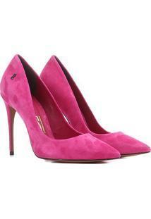 Scarpin Santa Lolla Bico Fino Feminino - Feminino-Pink