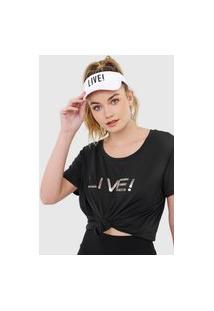 Camiseta Live! Logo Preta