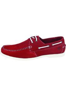 Dockside Shoes Grand Comfort Vermelho