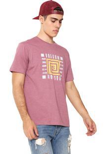 Camiseta Volcom Mezo Rosa