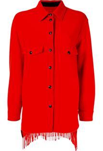 Woolrich Marine Scarlet Cardigan - Vermelho
