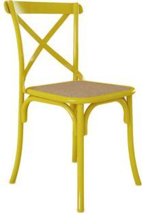 Cadeira De Jantar Katrina Amarela