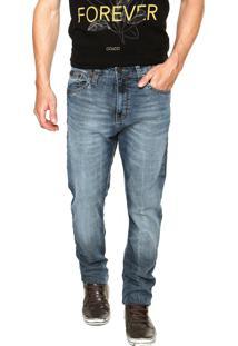 Calça Jeans Colcci Enrico Estonada Azul