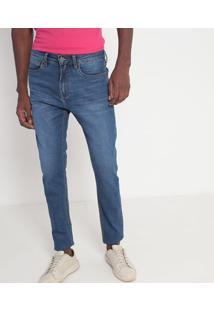 Jeans Reto Estonado- Azul- Calvin Kleincalvin Klein
