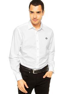 Camisa Forum Bordado Branco