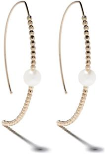 Mizuki Marquis Earrings - Gold