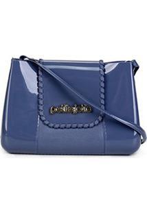 Bolsa Petite Jolie Mini Bag One Feminina - Feminino-Azul