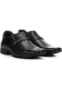 Sapato Social Couro Rafarillo Duo Dress - Masculino-Preto