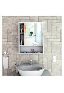 Armário Para Banheiro C/ Espelho Slim Appunto 1 Porta