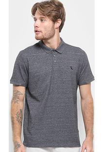 Camisa Polo Reserva Básica Masculina - Masculino-Mescla Escuro