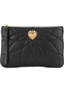Dolce & Gabbana Clutch Devotion - Preto