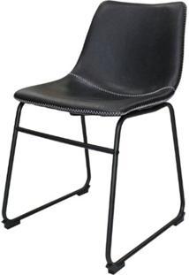 Cadeira Flora Preta 81 Cm (Alt) - 47398 Sun House