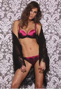 Conjunto Lingerie De Luxo Pink Pop De Chelles
