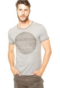 Camiseta Benetton Fatalpoison Cinza