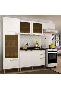 Cozinha Completa 5 Peças Americana Multimóveis 5686 Branco
