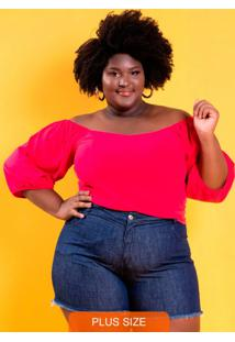 Cropped Mirella Rosa Plus Size