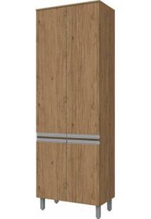 Paneleiro 4 Portas 71,5Cm Integra Henn Rustico