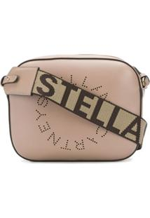 Stella Mccartney Bolsa Estruturada Stella Logo Mini - Neutro