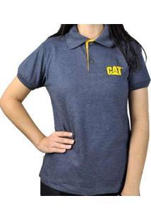 Camisa Polo Caterpillar Cat - Unissex