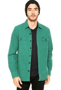 Camisa Volcom Stoneham Verde