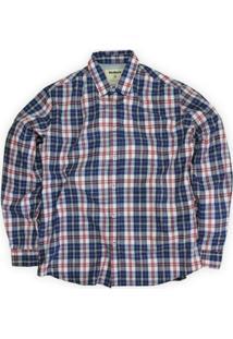 Camisa Xadrez Berkley Linoleum - Masculino