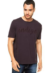 Camiseta Vila Romana Indigo Roxa