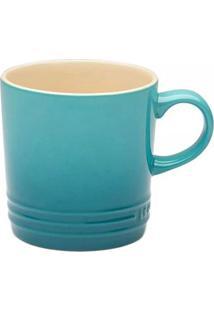 Caneca Le Creuset Cerâmica Azul Caribe 350Ml - 3031720