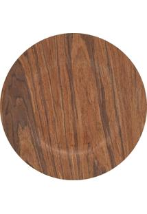 Sousplat Mimostyle Light Wood Madeira