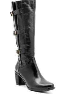 Bota Atron Shoes - Feminino-Preto