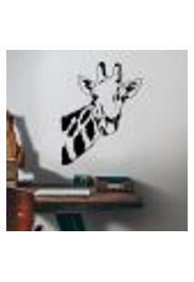 Adesivo De Parede Girafa 02 - M 58X45Cm