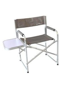 Cadeira Dobrável Nautika Diretor Poliéster Alumínio