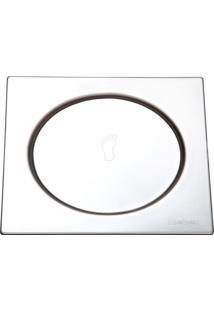 Grelha Quadrada Fecho Com Pressão 15X15Cm Inox 304 Meber