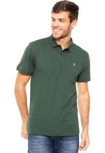 Camisa Polo Timberland Mllers River Verde