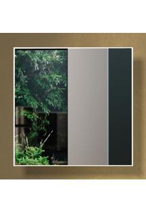 Espelho Quadrado 100% Mdf Es7 60 Cm Of White - Dalla Costa