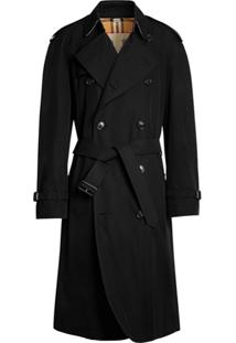 Burberry Trench Coat The Westminster Heritage - Preto