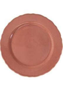 Prato De Bolo Redondo Acervo Panelinha Marrakech Pimenta-Rosa - 112958001