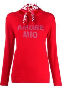 5 Progress Amore Mio Fine Knit Jumper - Vermelho