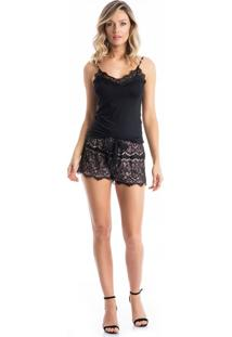 Short Doll Isa Preto/P