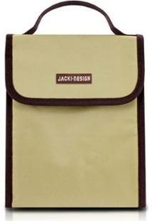Bolsa Térmica Jacki Design Lisa - Unissex-Creme