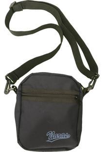 Bolsa Naras Pads Side Bag Tirocolo Azul Marinho