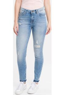 Calça Jeans Five Pockets Ckj 001 Super Skinny - 44