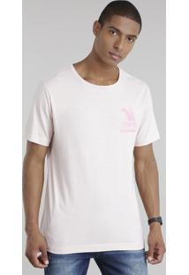 "Camiseta ""Chinatown"" Rosê"