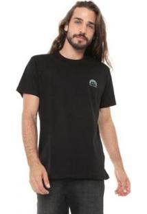 Camiseta Oakley One Icon Flat Masculina - Masculino-Preto