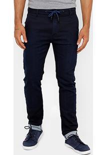Calça Jeans Forum Alexandre Indigo Masculina - Masculino