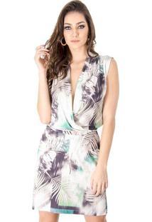 4a899ec42cd Vestido Cache Coeur Estampado Calvin Klein
