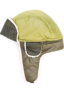 Moschino Chapéu Com Pelos - Verde